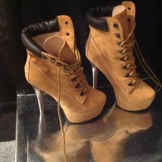 ziginy timberland heels for women