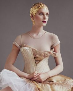 Called to the Barre - fashions with this dreamy shoot. Inspired by romantic designs from the likes of Louis Vuitton, Elie Saab Couture and Vivienne Westwood Couture styled by Damien Foxe.