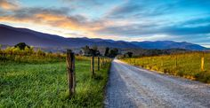 Good Morning Cades Cove, Smoky Mountians NP - by Brian Anderson on Brian Anderson, Good Morning, Early Morning, Cades Cove, Great Smoky Mountains, Weekend Getaways, Art Photography, Country Roads, Explore