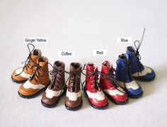 Lace Boots for Blythe azone Jerryberry Momoko by DollyHoly