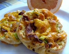 English Muffin Breakfast Pizzas - these are delicious and could not be easier to make. I love that I can make a big batch, freeze the leftovers, and have a quick breakfast on my way out the door in the mornings.  New favorite!