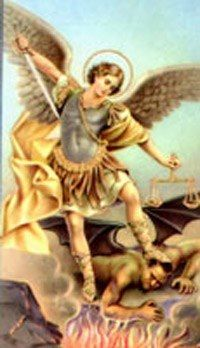 Saint Michael the Archangel.
