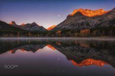 Wedge Pond Kananaskis Country Alberta Canada