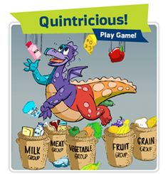 quintricious healthy food games for kids