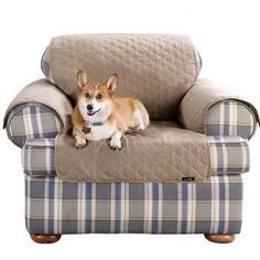 Sure Fit Furniture Friend Chair Slipcover, Linen - http://www.thepuppy.org/sure-fit-furniture-friend-chair-slipcover-linen/