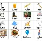 """In this activity, students will enhance their understanding of """"oo"""" and """"u"""" long vowels by sorting word/picture cards into the appropriate column...."""