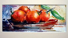 bodegon acuarela - Buscar con Google Still Life, Vegetables, Google, Painting, Food, Paper, Floral Watercolor, Watercolor Art, Water Colors
