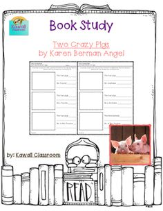 $1: Two Crazy Pigs. This resource was created to go along with the book Two Crazy Pigs by Karen Berman Nagel. I tried to make it go along with the book level (Guided Reading: I) and not be too complicated. Students will draw a picture of the animals and write what they did and how the farmers reacted.