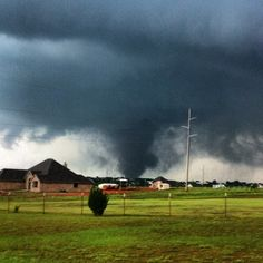 Horrifying Photos Of The Massive Tornado Tearing Through Oklahoma City A mile-wide tornado touched down in suburbs of Oklahoma City Monday afternoon, tearing through homes and businesses. Weather Storm, Weather Cloud, Wild Weather, Severe Weather, Extreme Weather, Tornadoes, Thunderstorms, Natural Phenomena, Natural Disasters