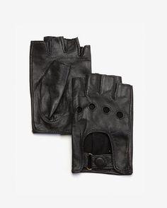 Fingerless leather gloves Leather Driving Gloves 2d815cbd3d8