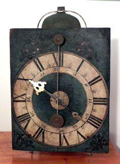 EXCEEDINGLY RARE & A TRUE MUSEUM PIECE Hour Striking CHAMBER CLOCK, Circa 1670!! #PearCasedVergeFuseePocketWatch