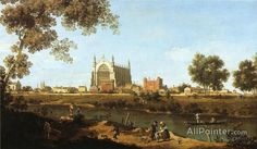 Giovanni Antonio Canal (called Canaletto),The Chapel Of Eton College oil painting reproductions for sale
