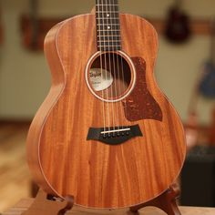 The GS Mini really is quite a remarkable instrument—in fact, Bob Taylor told me that he is prouder of this instrument than anything he has built his entire career. With a shorter scale and near-parlor                                                                                                                                                                                 More