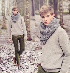winter fashion  Yes! Scarf!! Yes!