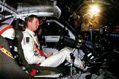 El Sr. Walter Rohlr tratando de dominar la bestia de 600 C.V. Audi Quattro S1 Grupo B.