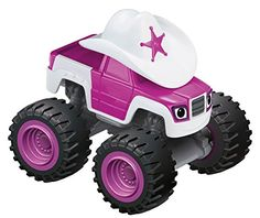 Nickelodeon Blaze and the Monster Machines Starla DieCast Truck *** You can find out more details at the link of the image.