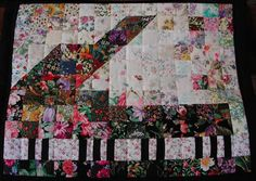 another piano quilt <3