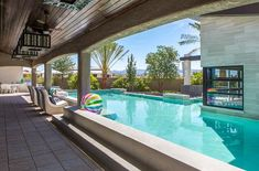 Would a back yard be complete without a pool? We knew it wouldn't when we installed it into our Las Vegas home :) Have some fun in the sun and have a pool party this summer!