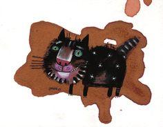 The star in the tea cat | Nastassia Ozozo via Etsy. Ann Bickel