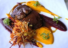 D'sens Beef fillet carrot and beetroot by Fernando Onions, via Flickr