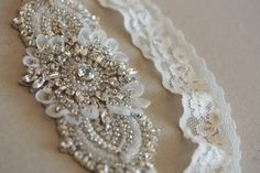 Bridal Garter set - Keela