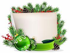 Клипарт для фотошопа - Открытки с Новым годом 2017 Петуха и Рождеством Христовым