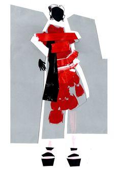 Fashion Illustration Alina Zamanova
