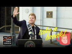 James Corden visits city hall and spells Los Angeles Mayor Eric Garcetti for the day, turning his focus to ribbon cuttings and cracking down on DJs. Best Of Snl, Best Tv, Take A Break, Take That, Reggie Watts, Eric Garcetti, The Late Late Show, Cbs All Access, Cuttings