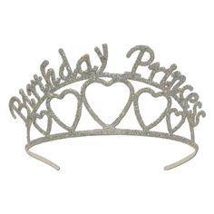 ♥ Glittered Birthday Princess Tiara ♥  #♥