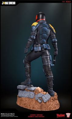 Pop Culture Shock : Judge Dredd Statue dévoilée