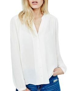 01087150b8b02 Free shipping and returns on Joie Doshia Silk Top at Nordstrom.com ...