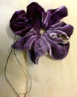 Just Lilla: Try this velvet flower.