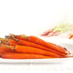 Receta de zanahorias glaseadas de guarnición en Crock Pot