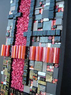 Rift - detail 2 by Opus Mosaics Mosaic Wall Art, Mosaic Diy, Mosaic Crafts, Mosaic Projects, Mosaic Tiles, Stone Mosaic, Mosaic Glass, Glass Art, Mosaic Madness