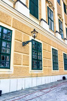 Palace Schönbrunn - the summer residence of the Habsburgs. The stunning Baroque palace is a must-visit destination on your Viennese trip. Vienna, Palace, Garage Doors, Outdoor Decor, Home Decor, Decoration Home, Room Decor, Interior Design, Home Interiors