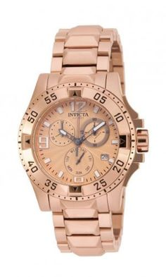 Invicta 16103 Excursion Women's Watch Rose Gold Chronograph