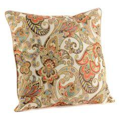 Grand Paisley Pillow | Kirkland's