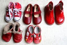 cute way to remember an ever expanding collection of toddler shoes