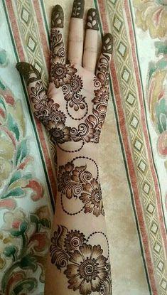 Henna Hand Designs, Dulhan Mehndi Designs, Mehndi Designs Finger, Floral Henna Designs, Simple Arabic Mehndi Designs, Latest Bridal Mehndi Designs, Mehndi Designs Book, Mehndi Designs 2018, Mehndi Designs For Girls
