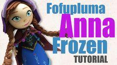 Como hacer una fofupluma Anna Frozen