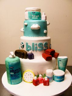 Haha, a Bliss Spa cake!..