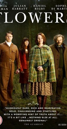 Flowers (TV Series ) – IMDb Flowers (TV Series ) – IMDb,Netflix Created by Will Sharpe. With Olivia Colman, Julian Barratt, Will Sharpe, Sophia Di Martino. Dark comedy about the eccentric members. Tv Series 2016, Tv Series To Watch, Movies To Watch, Comedy Series, Period Drama Movies, Period Dramas, Dvd Blu Ray, Movie List, Musica