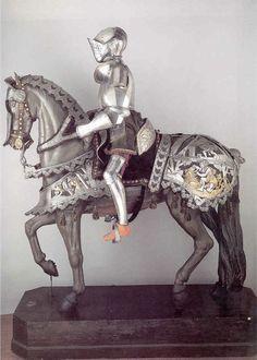 horse armor | Horse armor of Maximilian I & Horseman's armor of