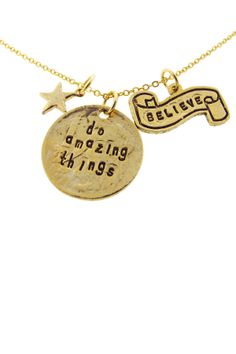 Believe in Amazing Things Necklace (Alisa Michelle)