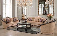Living Room Set HD136 - Antique ReCreations