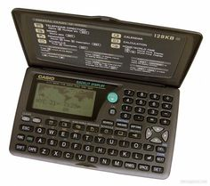 Digital Diary, Casio Digital, Old Phone, Cool Tech, Calculator, Childhood Memories, Computers, Gadgets, Laptop