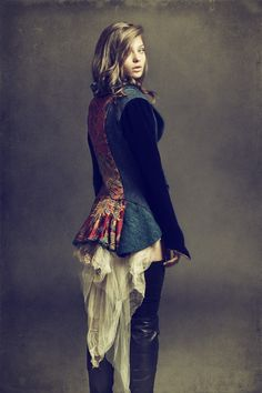 Harris Tweeds, Tartans, Lace & Feathers - Judy R Clark Portfolio