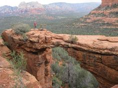 devil's bridge sedona az - I think this will be well worth the 2 mile round trip hike.