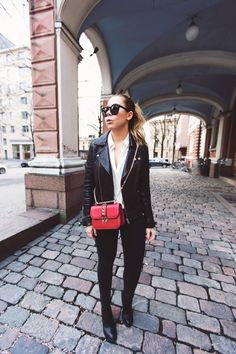 Red Valentino bag   Alexa Dagmar