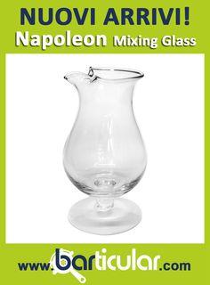 MIXING GLASS NAPOLEON STYLE - Capacità 1,5 lt. Chiamato anche GALLONE, è un accessorio Vintage che il barman utilizza in Mixology. http://www.barticular.com/store/oggetti-particular/mixing-glass-napoleon-style
